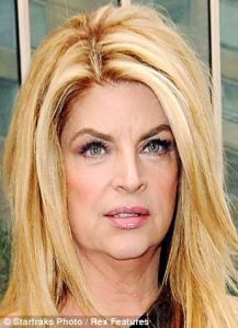Kirstie alley thinner