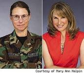 Military women makeovers