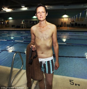 Topless Swimming Denied Breast Cancer Survivor Linda Franklin The Real Cougar Woman