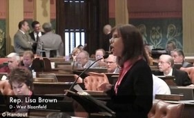 Vagina and Vasectomy Taboo Words on House Floor Linda Franklin The Real Cougar WOman